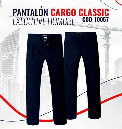 Pantalón Cargo Classic Executive