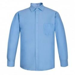 Camisa Oxford Con Bolsillo...
